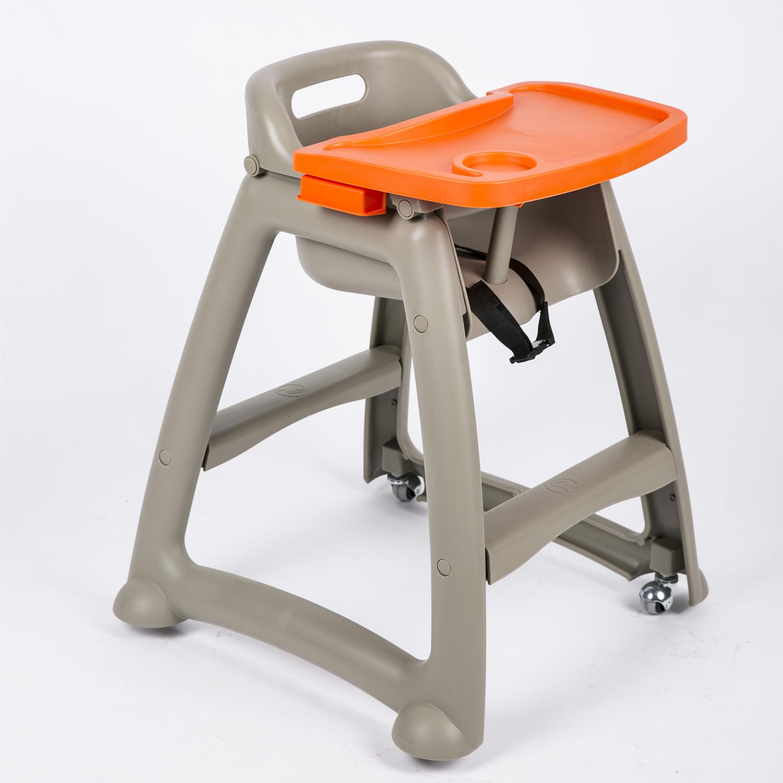 包郵塑料BB椅酒店餐廳椅肯德基麥當勞兒童餐椅寶寶吃飯椅嬰兒餐桌▋