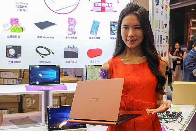 AVITA ADMIROR型格筆記簿型電腦原價$9,980,會場優惠價$999,限售4部。