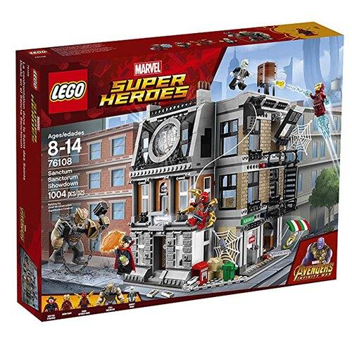 LEGO 樂高 76108 復仇者聯盟3 無限之戰 鋼鐵人 奇異博士