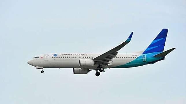 Pesawat Garuda Indonesia. (Shutterstock)