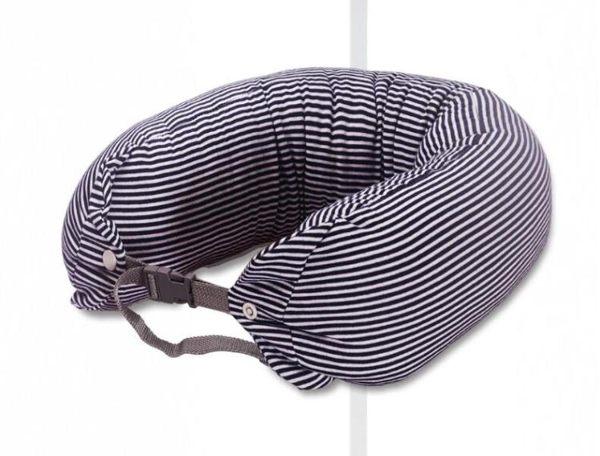 日式無印旅行u型枕頸椎枕頭護頸枕護脖子乳膠飛機午睡 U形頭枕芯