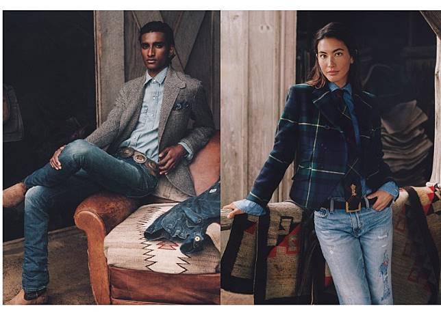 廣告請來六位模特兒及時尚達人粉墨登場,捕捉了他們與最愛的牛仔服所承載的獨特故事和懷舊情懷。 (互聯網)