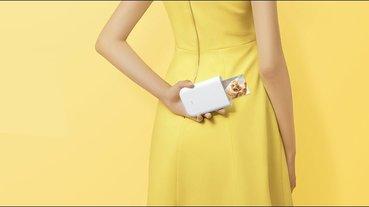 小米便攜相片印表機通過 NCC 認證,小巧機身隨手印背膠照片、AR照片和留聲照片,售價約 1480 元