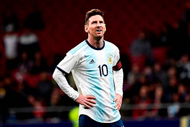 Lionel Messi. (PIERRE-PHILIPPE MARCOU / AFP)