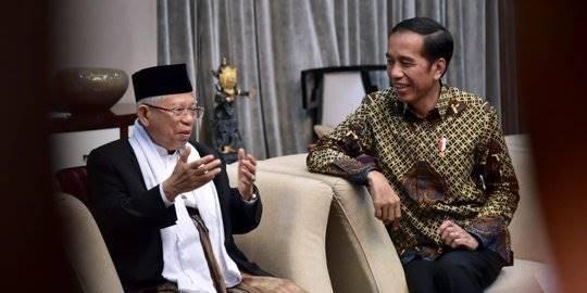 Jokowi dan Maruf Amin. ©Istimewa