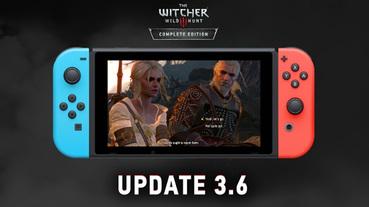 Switch 版《巫師3》迎來大更新,可與 PC 版本存檔互通、畫質選項更多