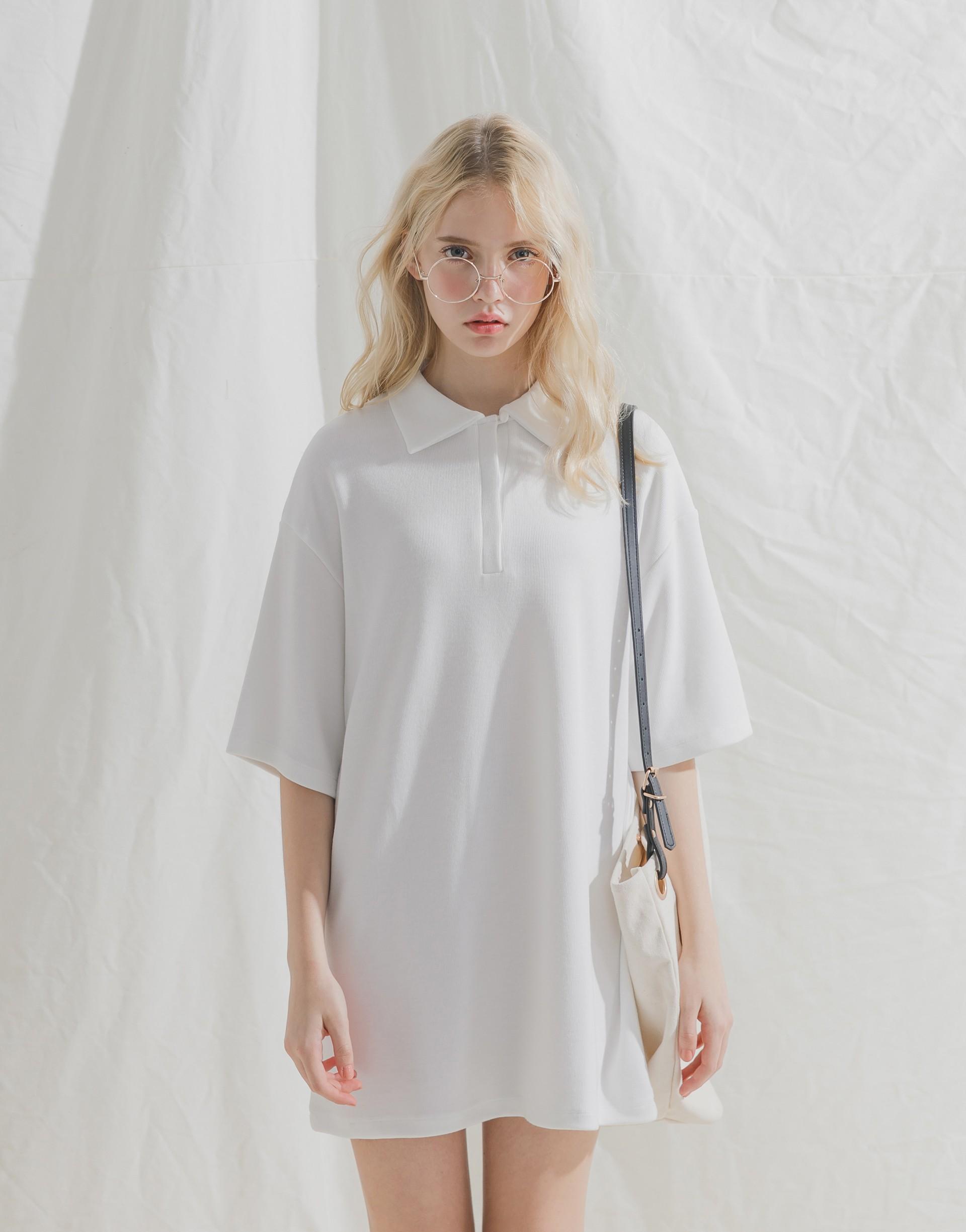 台灣製造/PAZZO自訂開發布料/親膚柔棉/領口釦子可開/無內裡