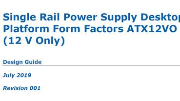 這批很純,只有 +12V!Intel 新 ATX 電源供應器設計指南「ATX12VO」是什麼?