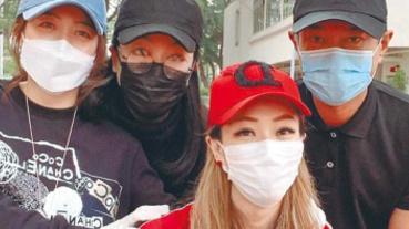 古天樂搜購130萬個外科口罩 鄭秀文親送「平安飯盒」助抗疫