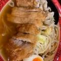 ボリューム排骨麺 - 実際訪問したユーザーが直接撮影して投稿した西新宿ラーメン専門店万世麺店 新宿西口店の写真のメニュー情報