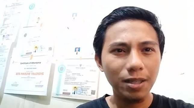Pria asal Sulsel gantung ijazah tagih janji Jokowi gaji pengangguran (Facebook)