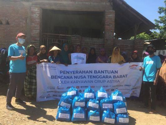 Amanah Astra serta karyawan Astra Group telah menyalurkan bantuan bagi para korban di tiga wilayah yang terjadi bencana.