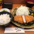 ロースカツ定食 - 実際訪問したユーザーが直接撮影して投稿した高田馬場とんかつとんかつひなたの写真のメニュー情報