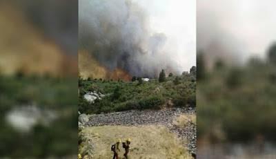 Kebakaran hebat di Yarnell Hill, AS