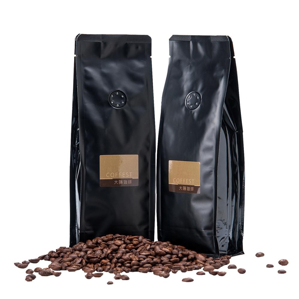 【大隱咖啡】旅行系列 嚴選咖啡豆 - 半磅裝