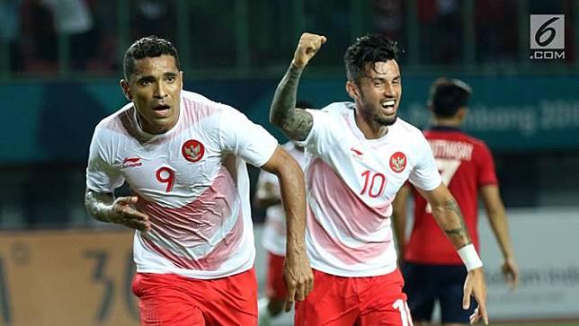 Gol Alberto Goncalves Antar Indonesia Unggul di Babak Pertama