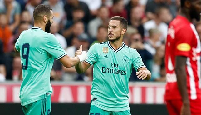 Cetak Gol Perdana Bareng Madrid, Hazard Merasa Lega