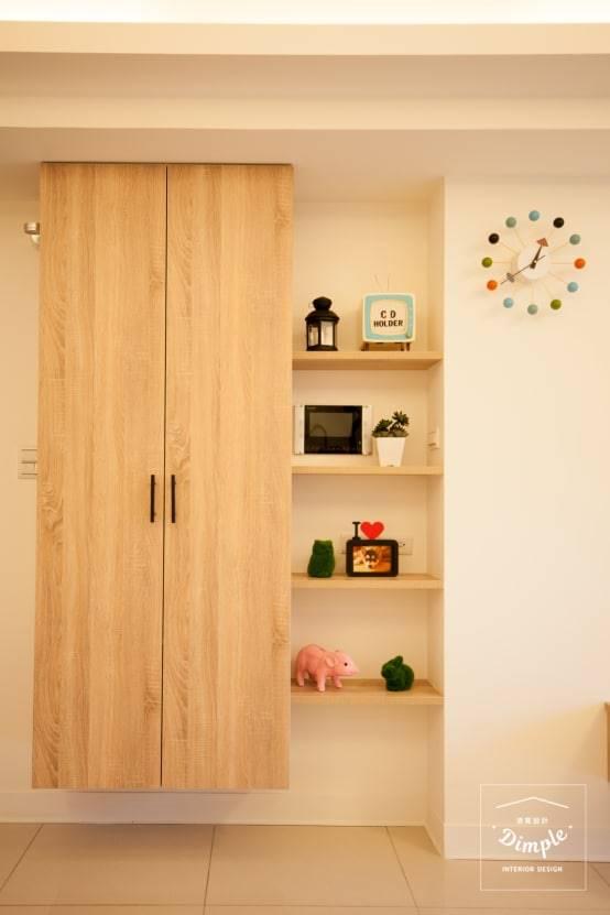 玄關裝潢實例三:良好的收納功能
