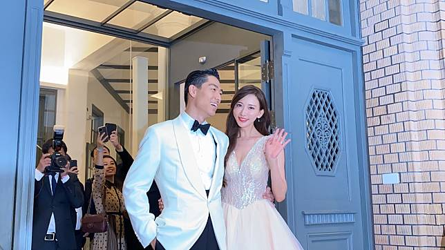 林志玲與日本老公AKIRA17日在台南舉行婚禮