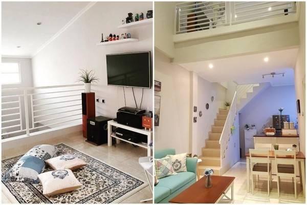 Desain Keren yang Kreatif, Rumah 2 Lantai di Lahan 72m !