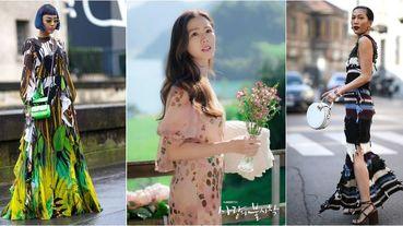 春天絕對要入手的10件「爆款洋裝」推薦給妳!孫藝珍最愛鮮豔印花、泡泡袖、針織洋裝通通上榜