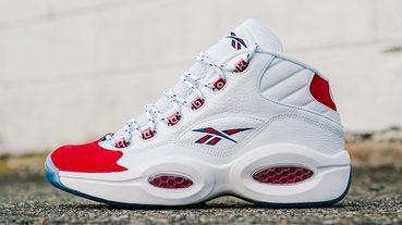 新聞分享 / 原貌重現 Reebok Question Mid 'Red Toe' 麂皮版復刻就在八月