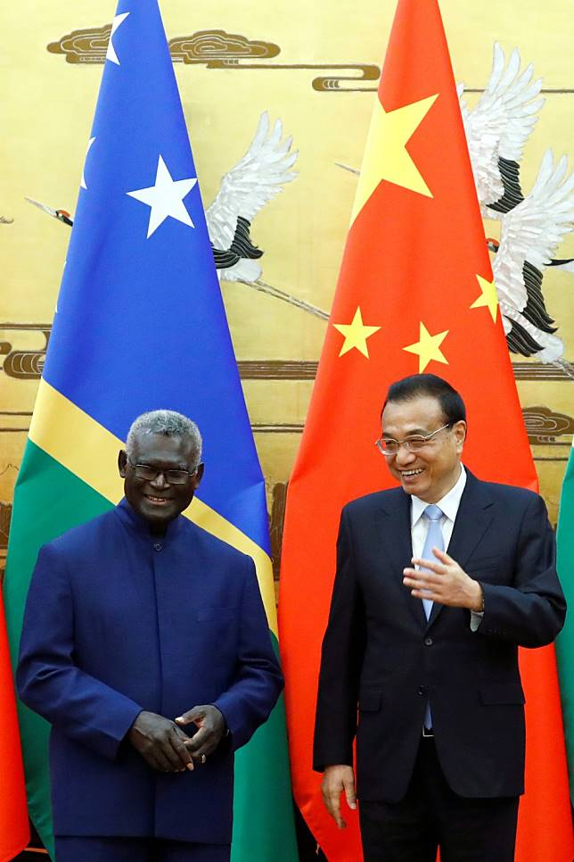 Prospects are bright, China tells new Pacific partner Solomon Islands