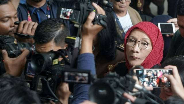 Ratna Sarumpaet menjalani sidang lanjutan dengan agenda eksepsi di PN Jakarta Selatan, Selasa (6/3/2019). Foto: Nugroho Sejati/kumparan