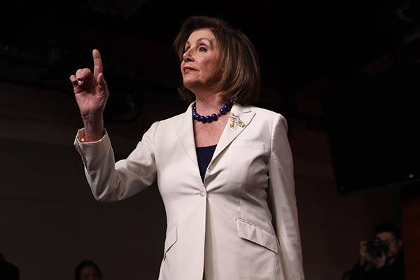 Ketua DPR Amerika Serikat (AS), Nancy Pelosi