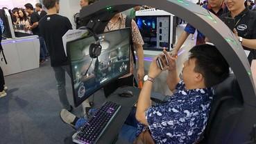 筆電內建Android模擬器、電腦椅也有RGB...這些是Computex會場我們遇見的特殊電競周邊產品