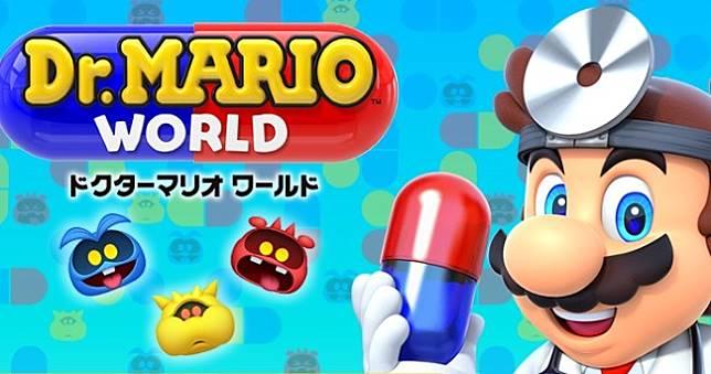 任天堂全新手遊《瑪利歐醫生世界》7月雙平台上架,超Q三消經典