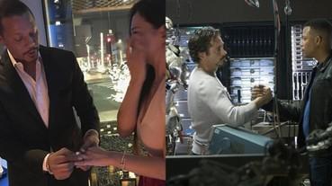 第一代「戰爭機器」男星泰倫斯·霍華再次向前妻求婚,浪漫送上 7 克拉鑽石戒指超奪目!