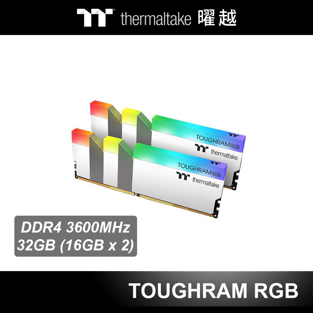 3600 MHz適用規格:Intel Z490, X299, 300 Series , AMD X570, B550模組規格:DIMM效能:XMP 2.0 Ready產品內容:2 x 16GB mem