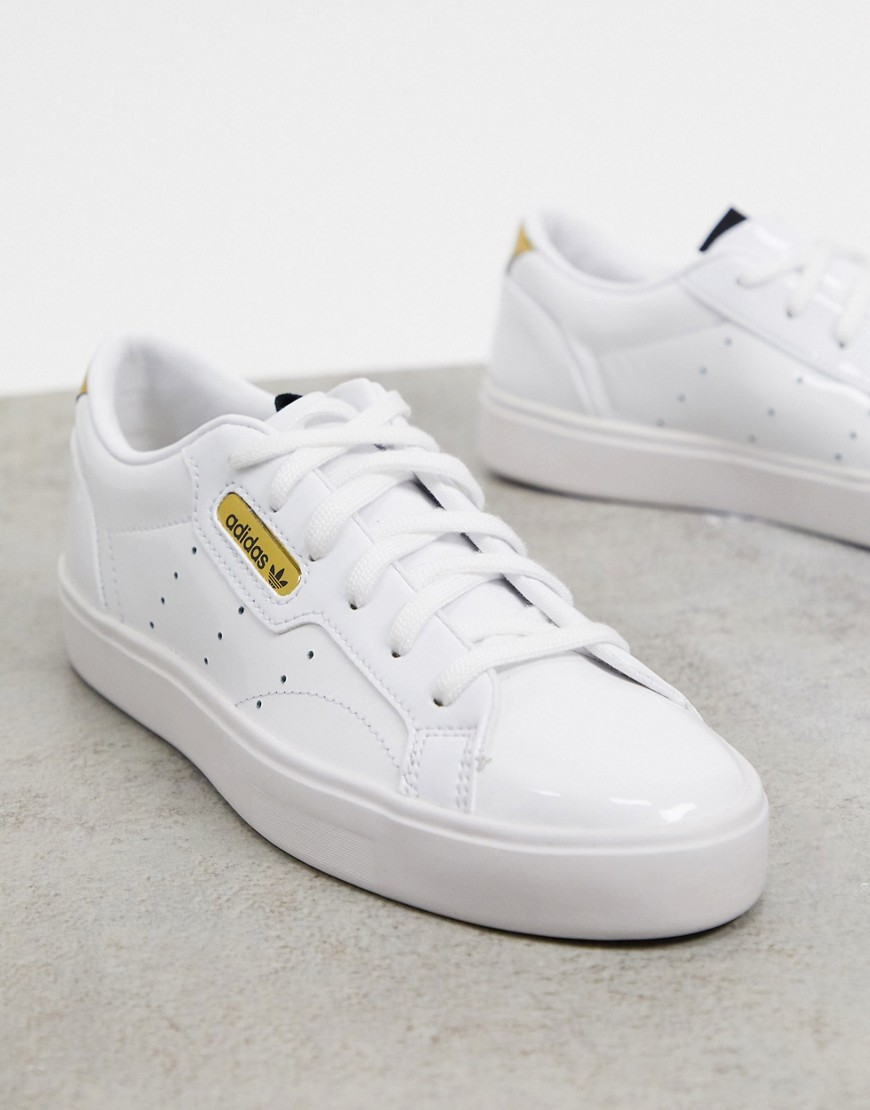 Trainers by adidas Switch up your rotation Low-profile design Pull tab for easy entry Lace-up fasten