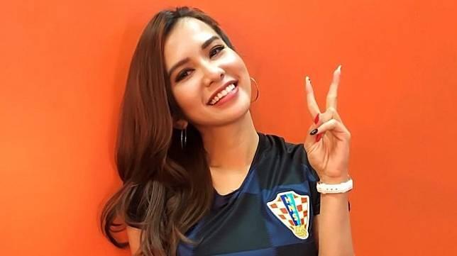 Presenter olahraga, Maria Vania. [@maria_vaniaa / Instagram]
