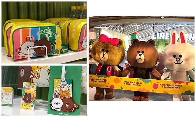 全港首間LINE FRIENDS Store的Outlet店在東涌開幕,除了有限量品獨家發售,CHOCO、熊大和CONY更主持剪綵儀式。