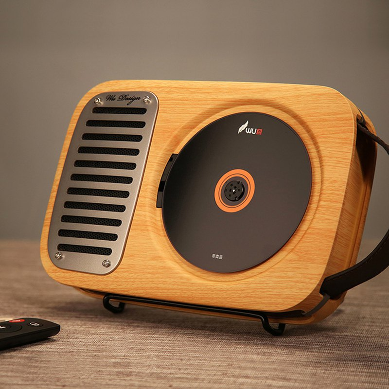 CD機播放器 復古壁掛式CD機 藍牙音響 留聲機音效