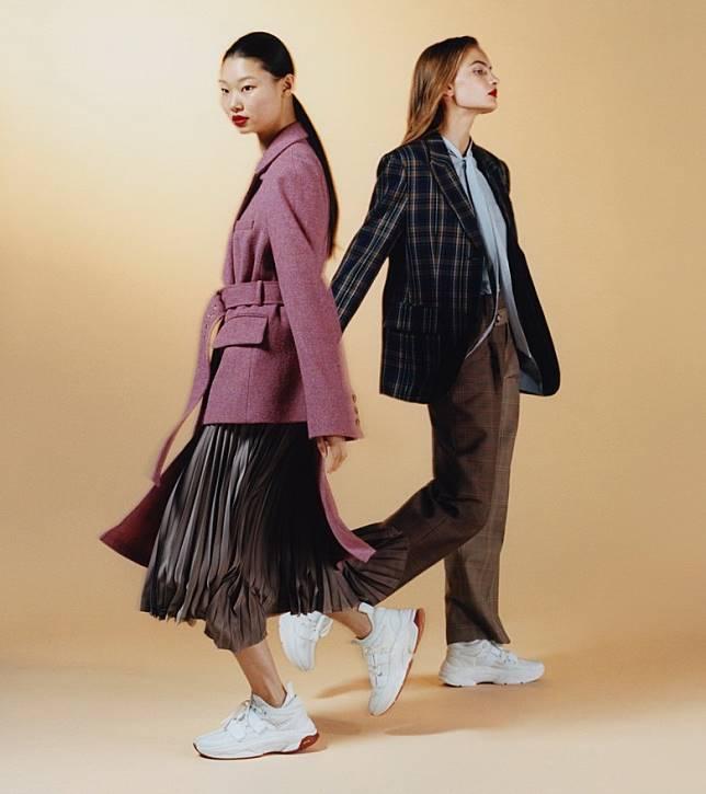 走北歐休閒街頭風格的Andersson Bell是韓國當今人氣品牌之一。(互聯網)