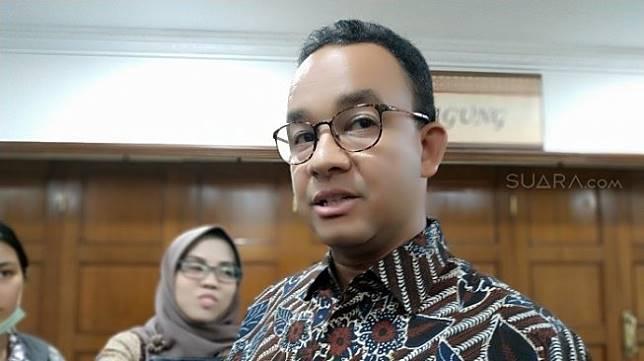Gubernur DKI Jakarta Anies Baswedan (Suara,com/Fakhri).