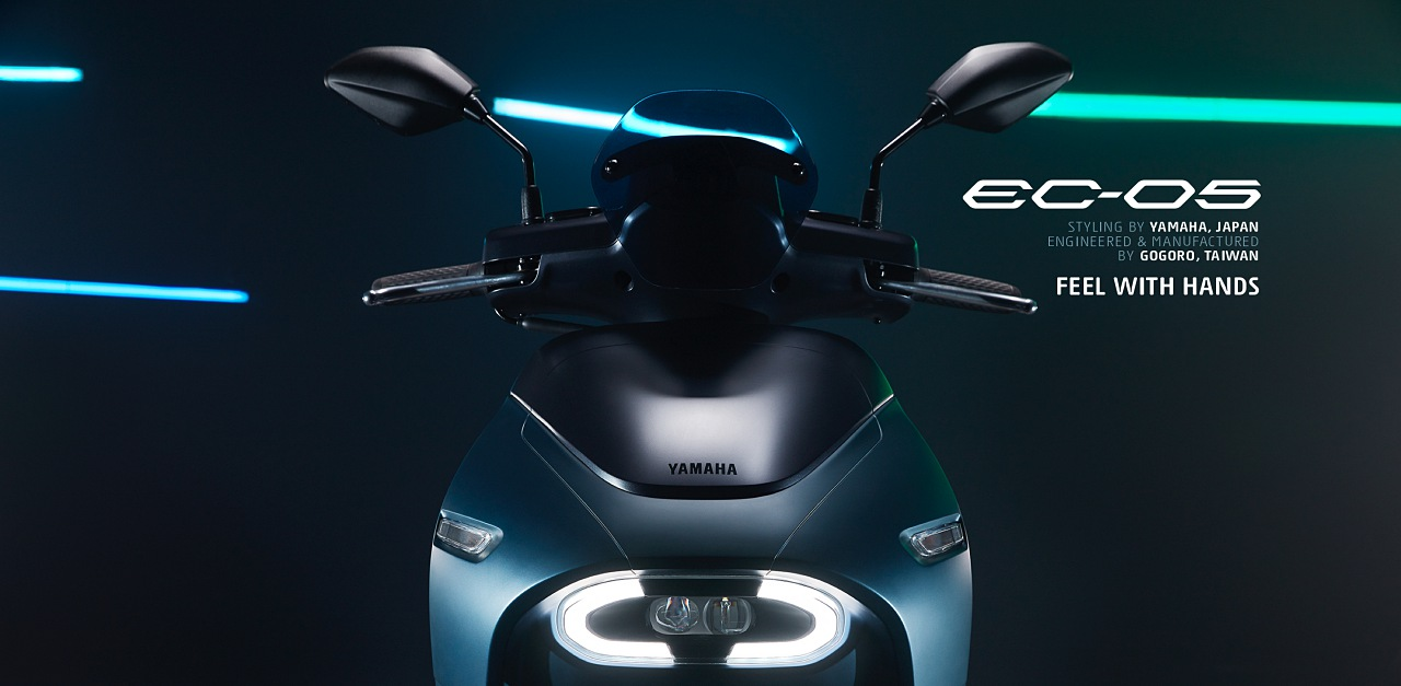 YAMAHA 與 Gogoro 合作電動車 EC-05 正式發表,售價 99,800 元
