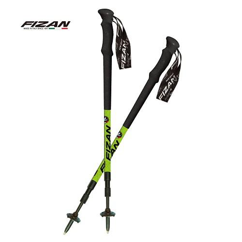 Fizan義大利18.7506 頂級專業登山杖2入特惠組-原裝、好清潔、減緩膝蓋傷害、登山旅行基本裝備