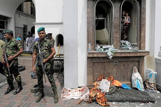 Intelijen Kirim Peringatan 10 Hari sebelum Bom-bom Guncang Sri Lanka
