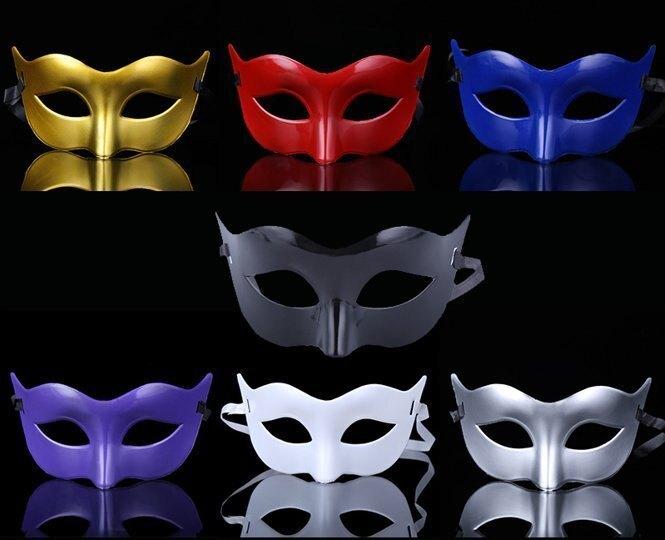 東區派對-萬聖節面具/cosplay/意式面具/青蜂俠面具/陳真造型面具/ 王子面具/素面眼罩/素色面具