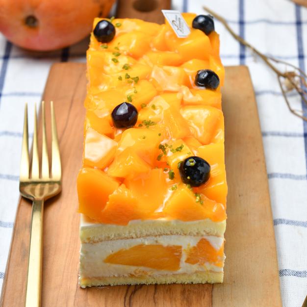 ◆含運費◆【食感旅程Palatability】白乳酪芒果蛋糕 / 多到爆炸新鮮芒果 / 精選智利藍莓