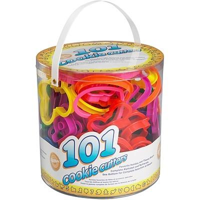 可做多種主題餅乾麵糰翻糖黏土壓模桶裝好收納更衛生手作餅乾親子同樂