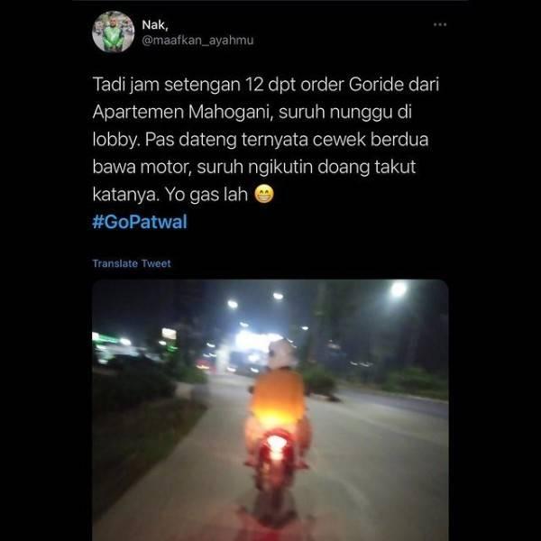 10 Momen Awkward Driver Ojek Online dan Penumpang, Malu Banget!