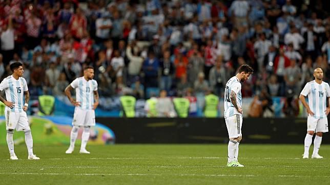 Timnas Argentina Tak Perlu Ditangisi