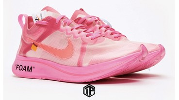 Off-White™ x Nike Zoom Fly SP 推出「Racer Pink」配色