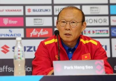 HLV Park Hang Seo: 'Tôi dành tặng chiến thắng cho người dân Việt Nam'