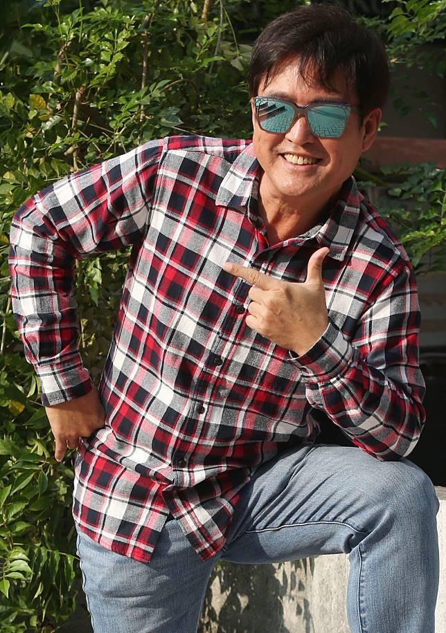 檢場經常在偶像劇中演父親的角色。記者林俊良/攝影